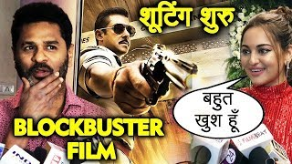 Sonakshi Sinha & Director Prabhu Deva On Salman Khan's DABANGG 3