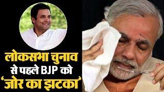MP में BJP को जोर का झटका, 3 दिग्गजों समेत 1 दर्जन नेता Congress में शामिल