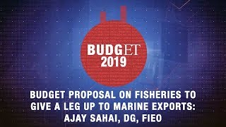Budget proposal on fisheries to give a leg up to marine exports: Ajay Sahai, DG, FIEO