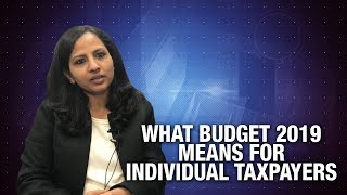 What Budget 2019 means for Individual Taxpayers