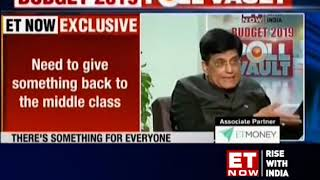 We fiscally consolidated economy and given a premium to honesty: Piyush Goyal
