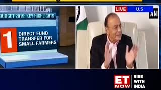Budget 2019: Jaitley rejects criticism over tax sops, farmer income scheme