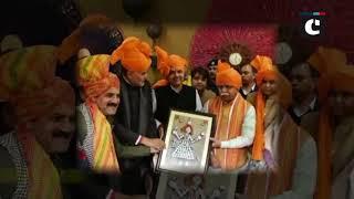 Devendra Fadnavis inaugurates Surajkund Crafts Mela in Haryana's Faridabad