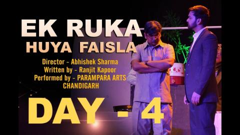 Day 04 Highlights | 1st Feb | 14th TFT Winter Theatre Festival 2019 | Chandigarh | Theatre For Theatre | RFE