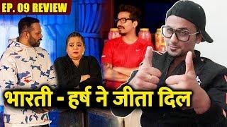 Bharti Singh And Haarsh Limbachiyaa WINS HEART   Khatron Ke Khiladi 9 Ep.09 Review