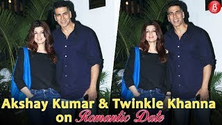 Akshay Kumar and Twinkle Khanna Spotted On A Romantic Date At Soho House