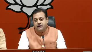 "Gandhi Parivar should be called as ""Bail Family"" as all of them are out on bail- Dr. Sambit Patra"