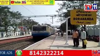 TRAIN HIT ONE PERSON CROSSING RAILWAY TRACK AT BORABANDA