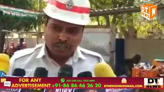 Muslim Traffic Cop | Doesn't Get Permission | To Offer Salah (Namaz) | Accuses Goshamahal Officers