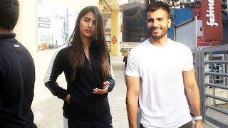 Karan Tacker And Pooja Hegde Spotted At Juhu PVR