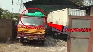 Illegal Garbage Sorting Plant In Thivim Raise Stink