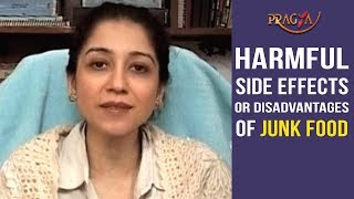 Watch Harmful Side Effects or Disadvantages of Junk Food
