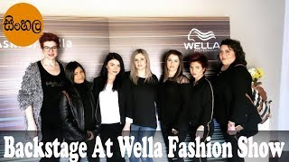 Backstage At Wella Fashion Show Cyprus 2019