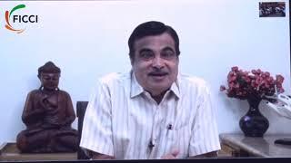 Nitin Jairam Gadkari addresses the 91st AGM of FICCI