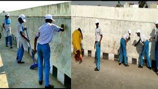 Swach Bharat Masoom Baccho Ke Haat | Students Cleans The Roads |