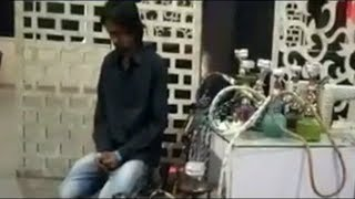 Raid At Hukkah Parlor At Mehadipatnam By West Zone Taskforce   @ SACH NEWS  