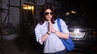 Twinkle Khanna Spotted At Kromakay Salon Juhu- Watch Video