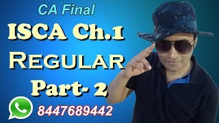 1 2 ISCA ch1 part 2 Regular Videos By Abhinav Jha