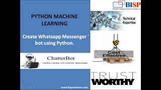 Watch Facebook Python Chotbot | Python Facebook ChatterB    (video