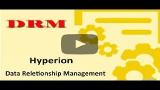 Oracle DRM Hierarchy | Oracle DRM | Oracle Data Relationship Management