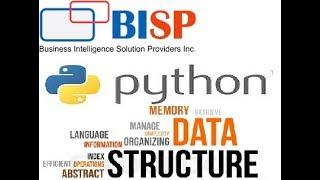 Bubble Sort in Python | Basics of Python | Data Structure in Python | BISP Python