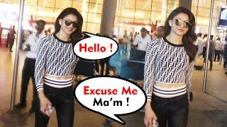 Gorgeous Urvashi Rautela Spotted At Airport