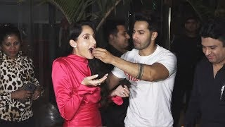Nora Fatehi GRAND Birthday Bash With Varun Dhawan, Sunil Grover, Elli Avram And More