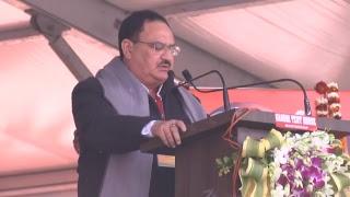 Shri Amit Shah addresses Booth Adhyaksh Sammelan in Aligarh, Uttar Pradesh