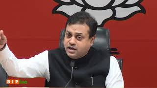 Congress has put posters of criminals Rahul Gandhi & Robert Vadra outside its office- Sambit Patra
