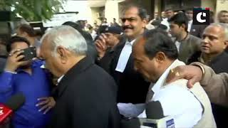 Panchkula- BS Hooda, Motilal Vora appear before court in connection with Manesar land scam case