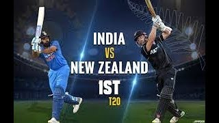 LIVE- IND vs NZ 1st T20 Cricket Match | Live Scores and Hindi Commentary