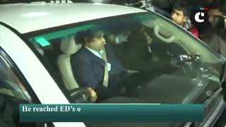 Money laundering case: Robert Vadra leaves from ED office after questioning