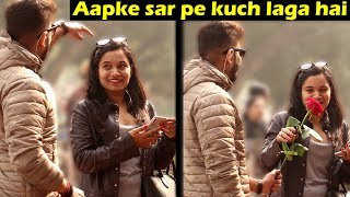 Giving Rose to Cute Girls | Rose Day Prank | Unglibaaz