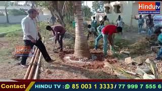 kodangal mandal sangaalapally  nss students shethala shibhiram