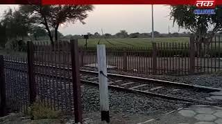 Damnagar - Many of the railway roads closed by the railway system eight shutters