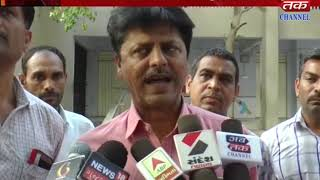 Botad - Tala bandhi school with the harassment of anti-social elements