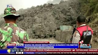 Masih Erupsi, Lelehan Lava Gunung Karangetang Tutup Jalan Raya