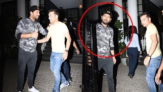 Yuvraj Singh Spotted At Soho House Juhu-Watch Video