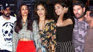 Bollywood Celebs Spotted At Soho House Juhu | Malaika Arora, Arjun Kapoor, Ananya Pandey