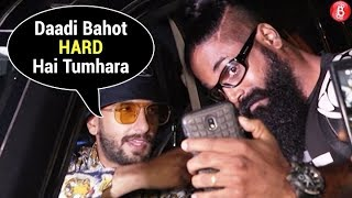 Ranveer Singhs CRAZY Compliment On A Fans Beard