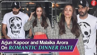 Arjun Kapoor and Malaika Arora walk out hand-in-hand after romantic dinner date