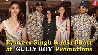 Ranveer Singh & Alia Batt Look CRAZY Colourful During 'Gully Boy' Promotions