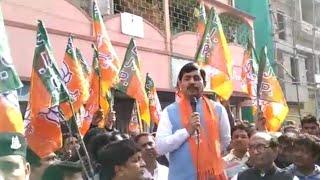 पश्चिम बंगाल के मुर्शिदाबाद में भाजपा प्रवक्ता शाहनवाज हुसैन की ममता सरकार को खुली चुनौती
