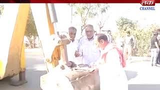 Damnagar - Enjoy the pilgrims coming to the temple of pilgrimage Hanuman ji