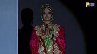 Anushka Sen GRAND Entry - Jhansi Ki Rani Serial Launch - Colors