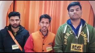 विद्यार्थी परिषद ने सुंदरनगर में प्रदेश सरकार के खिलाफ लगाए नारे, अगर मांगे नही मानी तो होगा आंदोलन