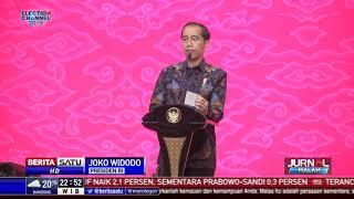 Ajak Masyarakat Tidak Golput, Jokowi: Jangan Takut Ditakut-takuti