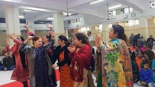 क्या खूब?? महिला संगीत की रंगीन कार्यक्रम | Mahila Sangeet Programme at New Delhi