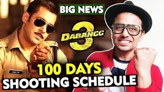 Salman Khan To SHOOT Dabangg 3 In Just 100 Days