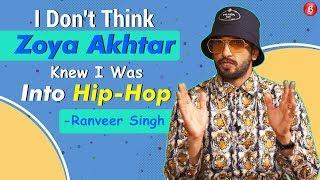 Ranveer Singh Answers Crazy Questions On Deepika Padukone, Zoya Akhtar & 'Gully Boy'